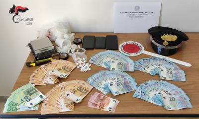 Bari Centro arresto per droga
